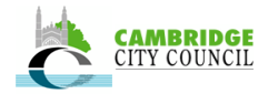 District council website for the historic English market city of Cambridge.