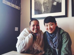 Stella Pereira and Kyung Lim (Photo - Ruth Reyes)