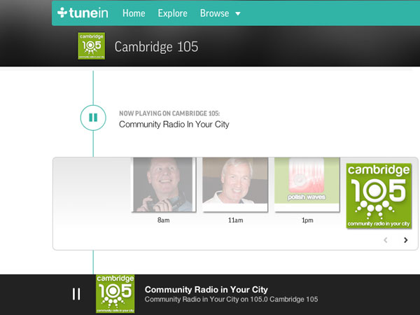 how to create a radio station on tunein